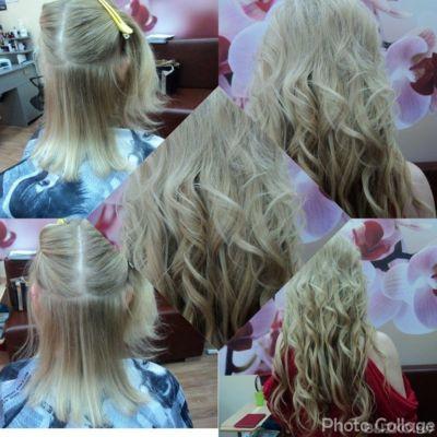 Наращивание волос цены в омске фото