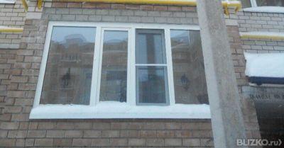 Французское остекление балконов и лоджий от компании гефест .