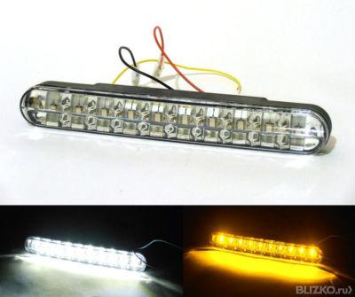 Как сделать светодиодные дхо