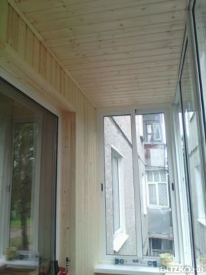 Обшивка балкона 3,0 х 1,2 в ульяновске - на портале blizko.