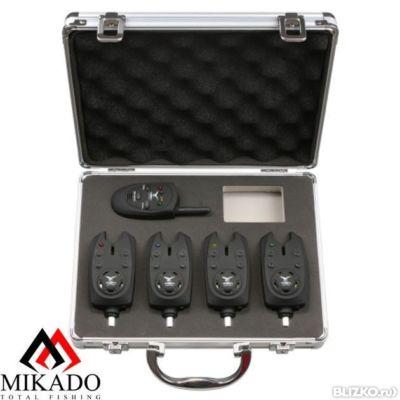 сигнализатор поклевки электронный mikado с креплением на удилище